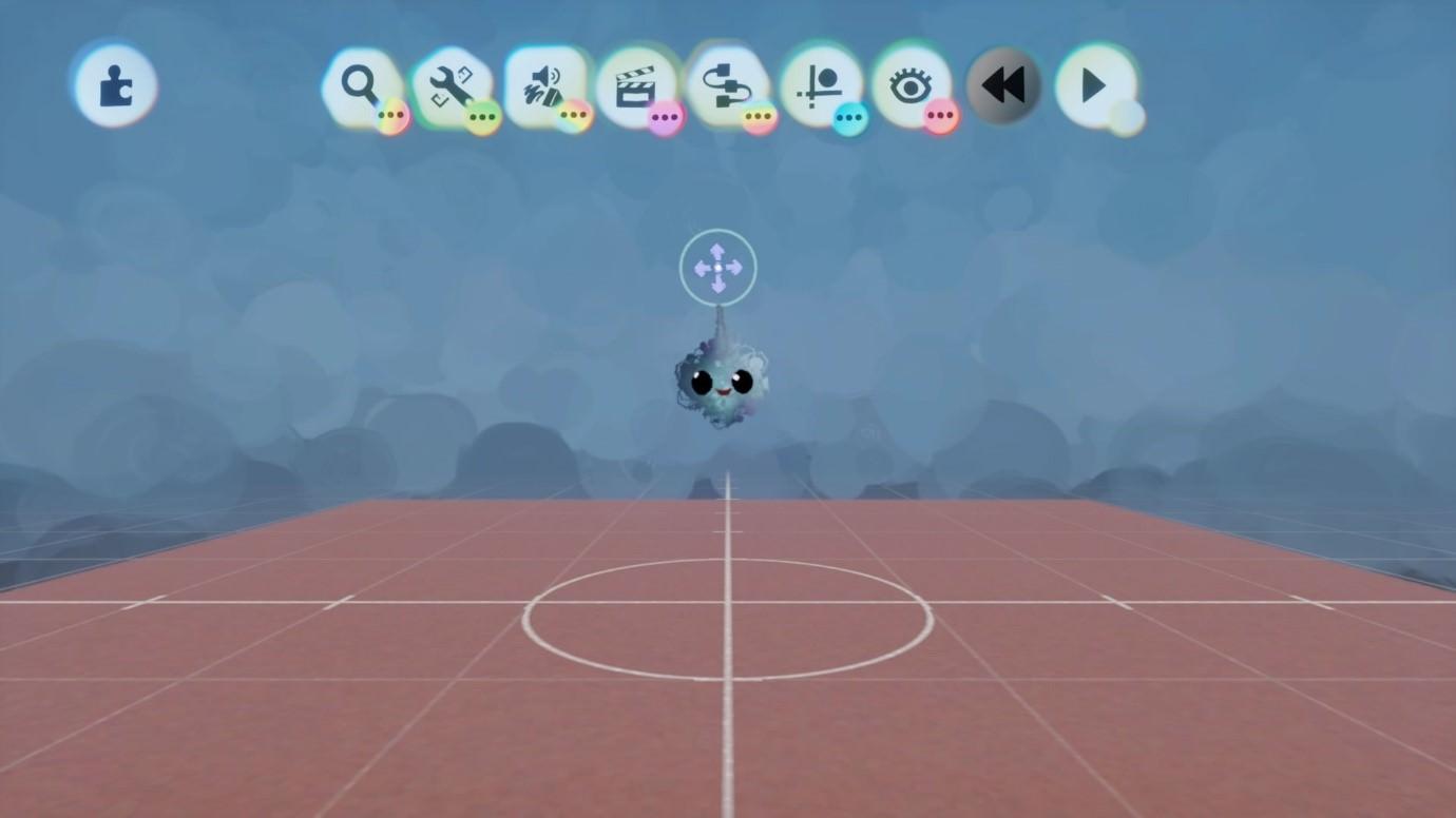 Captura de tela mostrando IU Grande no jogo