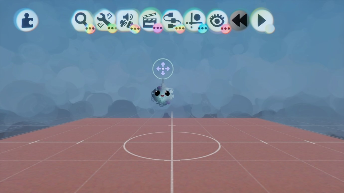 Captura de tela mostrando IU Máxima no jogo