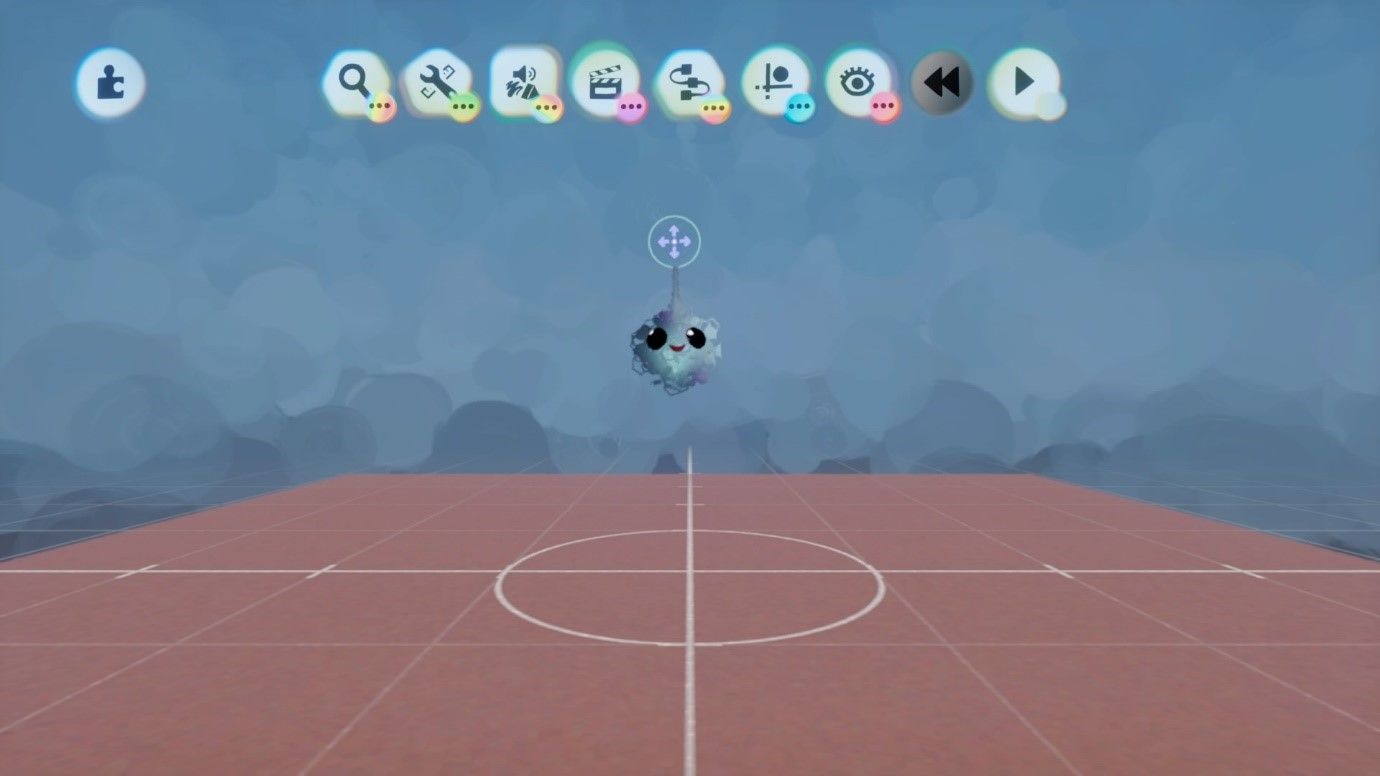 Captura de tela mostrando IU Média no jogo