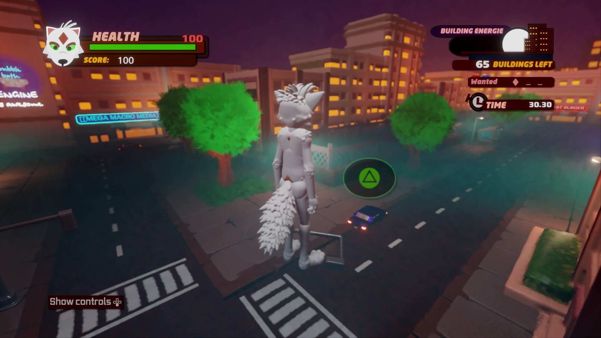 Befehle in Kaiju - City Rampage