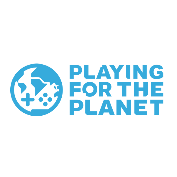 Logo der Playing For The Planet-Allianz