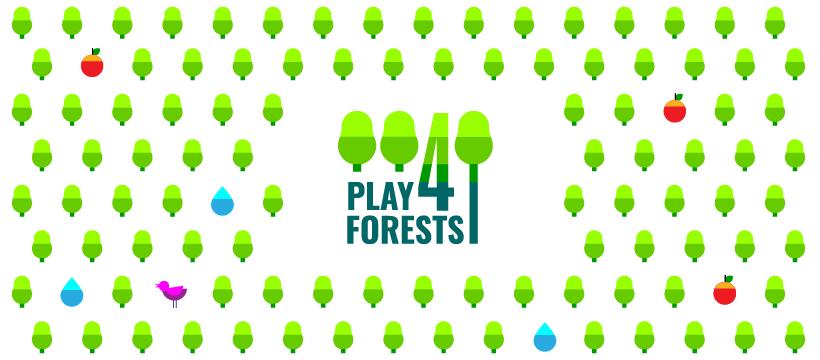 Grafik der Play4Forests-Initiative