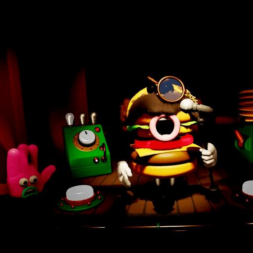 阿德曼動畫讓 Burgerotti 大展身手